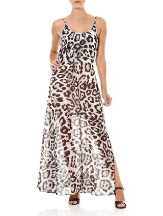 Como usar vestido animal print?