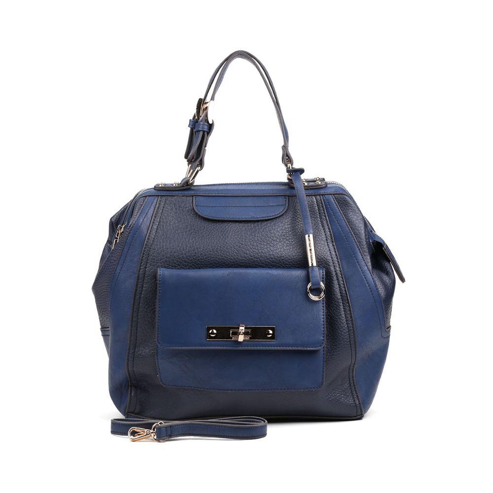 Bolsa Feminina Azul Marinho : Bolsa feminina pierre cardin azul marinho lojas pomp?ia