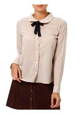 Camisa-Manga-Longa-Feminina-Autentique-Bege