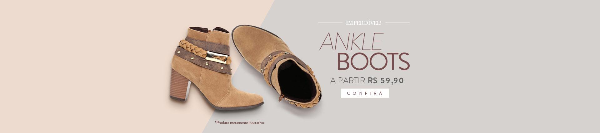 Imperdível! Ankle Boots