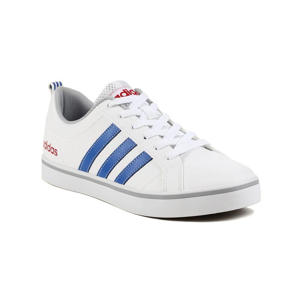 Lojas Pompeia Tenis Adidas Race Vs White Blue Red 01 Pace