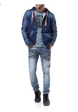 Calca-Jeans-Masculina-Vilejack-Azul