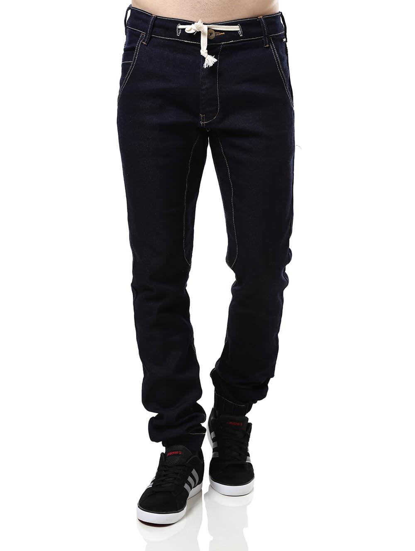 Calça Jeans Masculina Jogger Azul 38