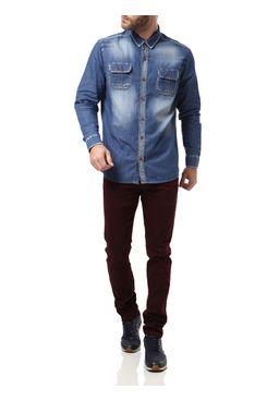 Camisa-Manga-Longa-Masculina-Azul-Claro