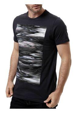Camiseta-Manga-Curta-Masculina-Fido-Dido-Cinza-Escuro-