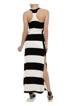 Vestido-Longo-Feminino-Autentique-Preto-Creme