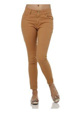 Calca-Jeans-Feminina-Zune-Capri-Caramelo