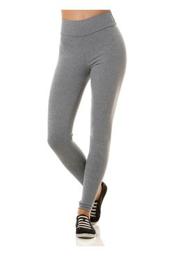 Calca-Tecido-Feminina-Legging-Cinza
