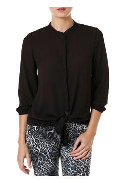 Camisa-Manga-3-4-Feminina-Autentique-Preta