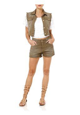 Colete-Jeans-Sarja-Feminino-Verde