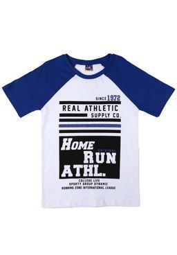 Camiseta-Manga-Curta-Juvenil-para-Menino-Branca-Azul