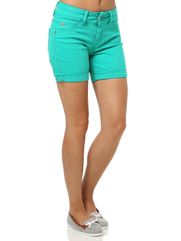 Bermuda Sarja Feminina Verde 38