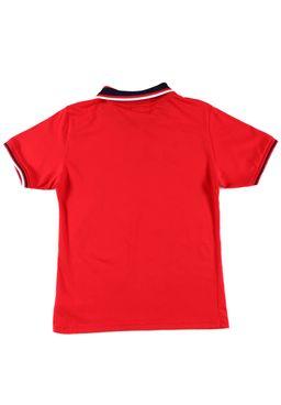 Polo-Manga-Curta-Juvenil-para-Menino-Vermelha