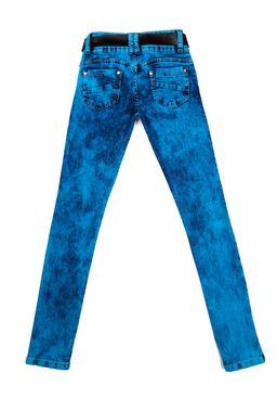 Calca-Jeans-Juvenil-para-Menina-com-Cinto-Azul-Marinho