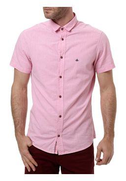 Camisa-Manga-Curta-Masculina-Rosa