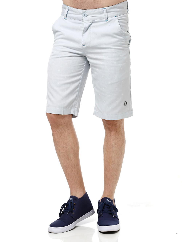 Bermuda Jeans Masculina Gangster Azul 42