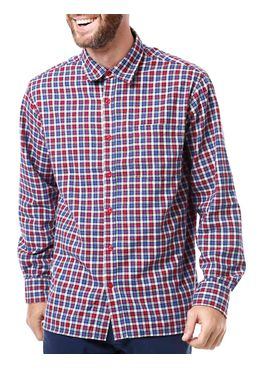Camisa-Manga-Longa-Masculina-Vilejack-Xadrez-Azul-Vermelha