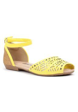Sandalia-Rasteira-Feminina-Dakota-Amarela