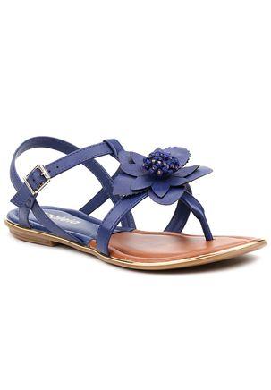 Sandalia-Rasteira-Feminina-Azaleia-Azul-Marinho