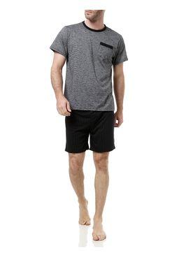 Pijama-Curto-Masculino-Preto