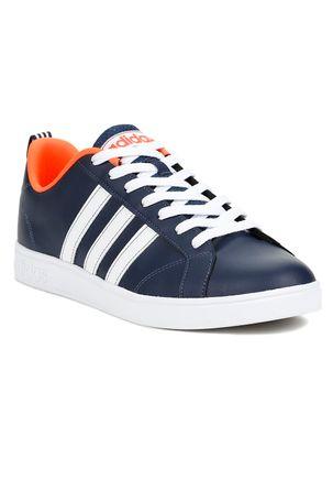 Tenis-Casual-Masculino-Adidas-Advantage-VS-Azul-Branco