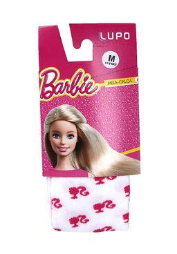 Meia-Calca-Infantil-para-Menina-Barbie---Branco