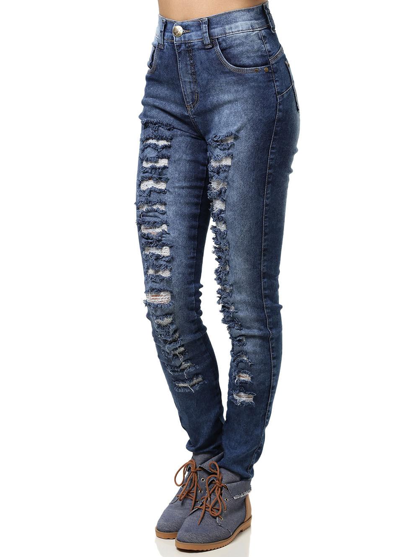 Calça Jeans Feminina Hot Pants 46