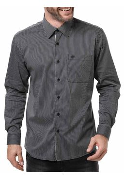 Camisa-Manga-Longa-Masculina-Optimist-Preta