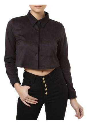 Camisa-Manga-Longa-Feminina-Autentique-Preta