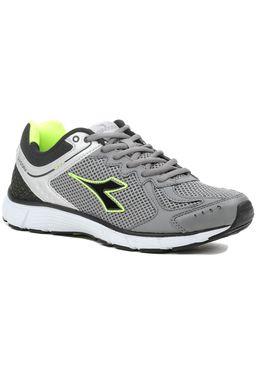 Tenis-Masculino-Diadora-Strike-Cinza-Verde