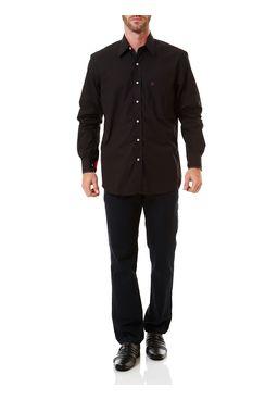 Camisa-Manga-Longa-Masculina-Preta