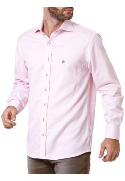 Camisa-Manga-Longa-Masculina-Xadrez-Branca-Rosa
