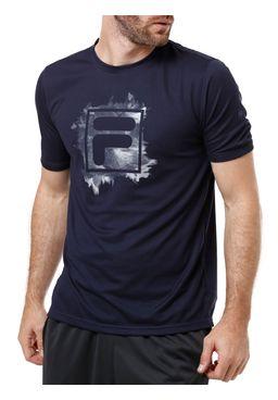 Camiseta-Manga-Curta-Masculina-Fila-Mist-Box-Azul-Marinho
