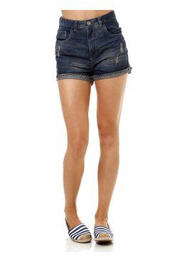 Short-Jeans-Feminino-Hot-Pants-Azul