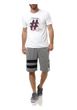 Camiseta-Manga-Curta-Masculina-Fila-Hashtag-Branca
