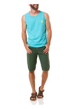 Camiseta-Regata-Masculina-No-Stress-Azul-Turquesa
