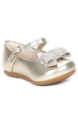 Sapato-Infantil-para-Bebe-Menina---Dourado