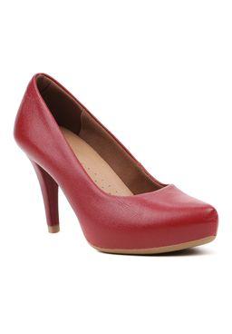 Sapato-de-Salto-Feminino-Usaflex-Vermelho