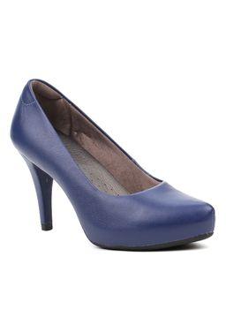 Sapato-de-Salto-Feminino-Usaflex-Azul