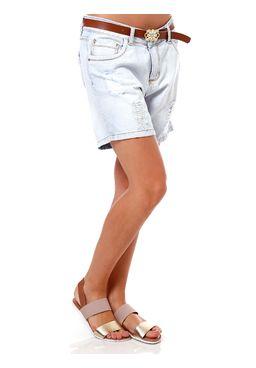 Short-Jeans-Feminino-com-Cinto-Azul