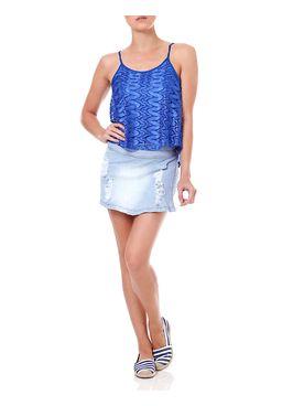 Short-Saia-Jeans-Feminino-Bivik-Azul