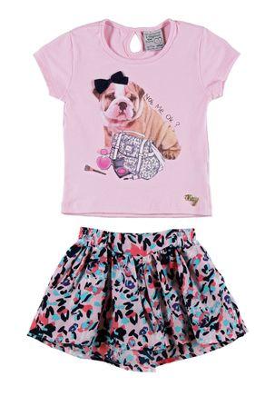 Conjunto-Infantil-para-Menina-Rosa-