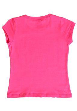 Camiseta-Manga-Curta-Infantil-para-Menina-Rosa