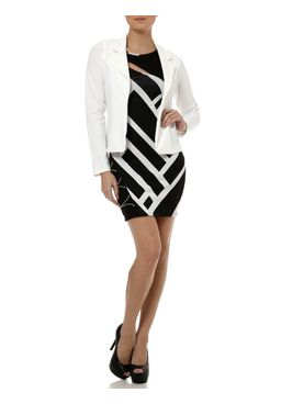 Vestido-Curto-Feminino-Preto-Branco