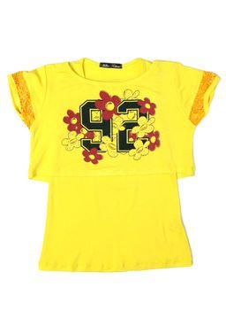 Blusa-Regata-Juvenil-para-Menina-com-Sobreposicao-Amarela