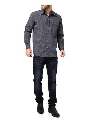 Camisa-Manga-Longa-Masculina-Di-Marcus-Preta