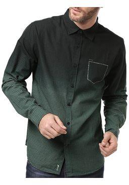 Camisa-Manga-Longa-Masculina-Dixie-Verde