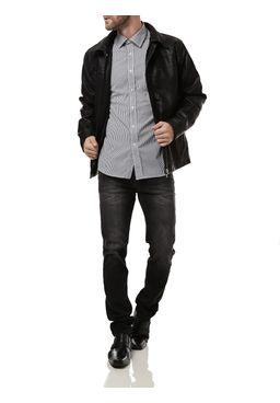 Camisa-Manga-Longa-Masculina-Branca-Preta