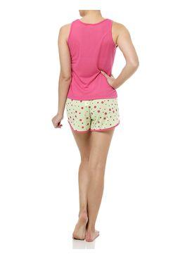 Pijama-Curto-Feminino-Rosa-Verd