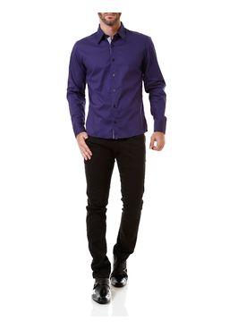 Calca-Jeans-Sarja-Masculina-Bivik-Preta
